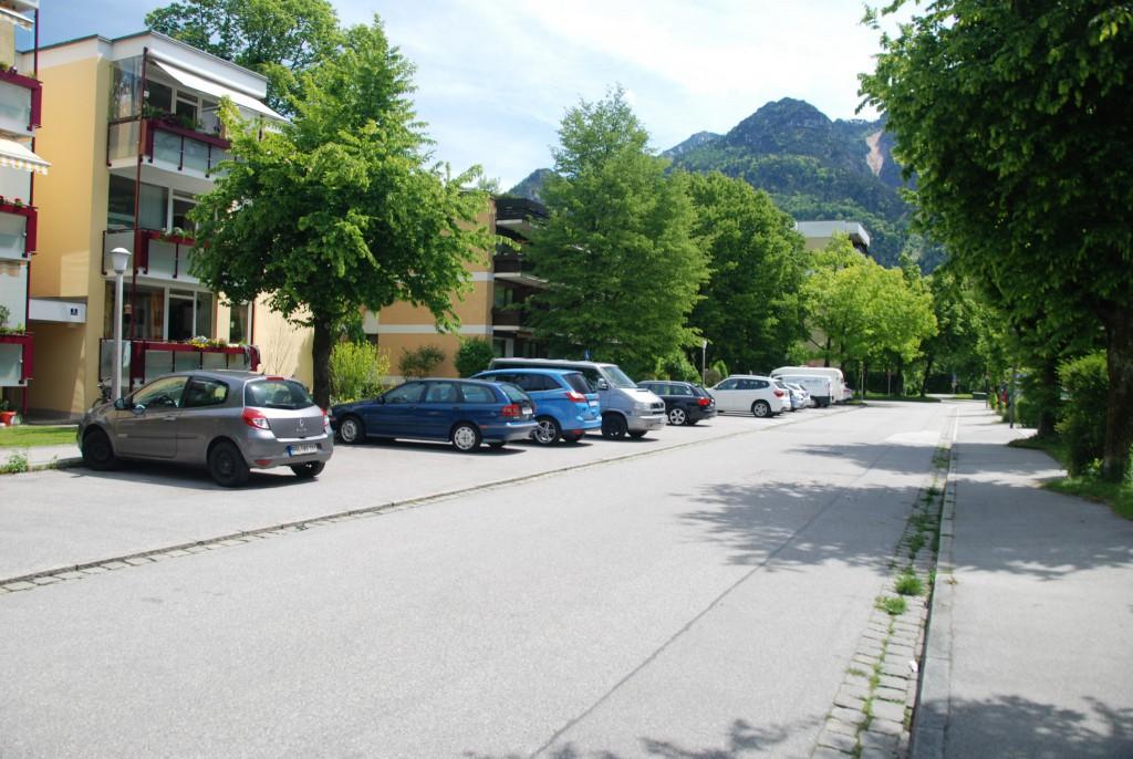 Parkmöglichkeit in der Strasse