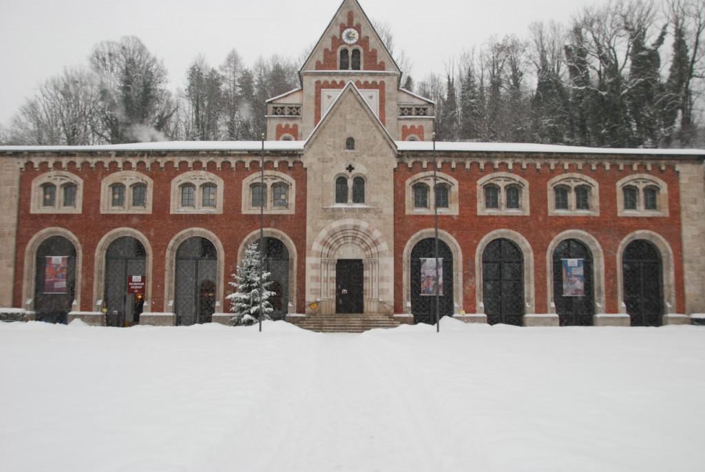 Alte Saline im Winter