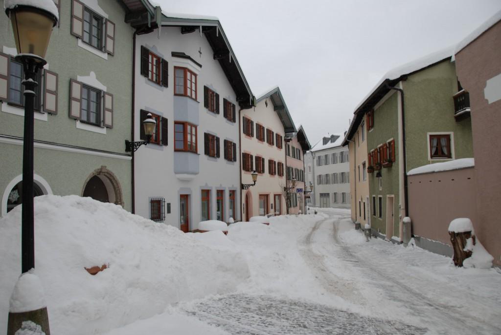Obere Stadt im Winter