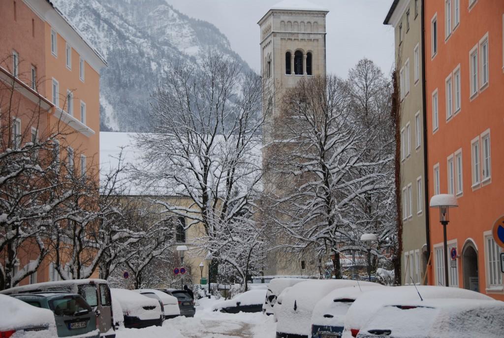 Sankt Nikolaus im Winter