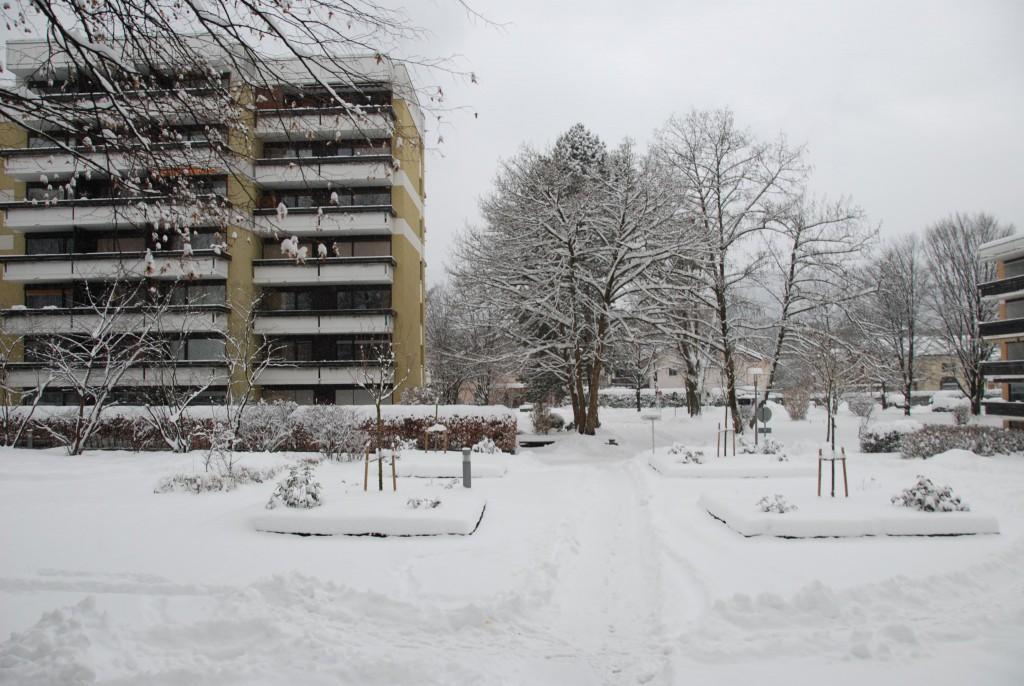 Ferienwohnung Fischerbräuwiese 9 im Winter
