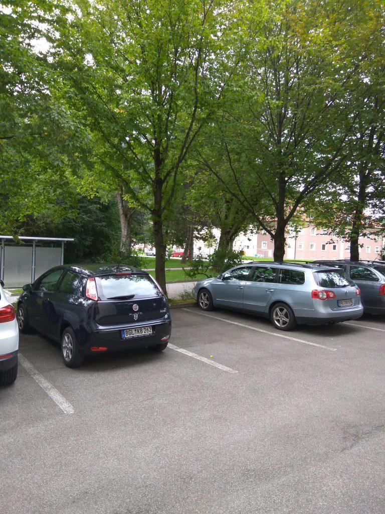kostenfreie Parkmöglichkeit