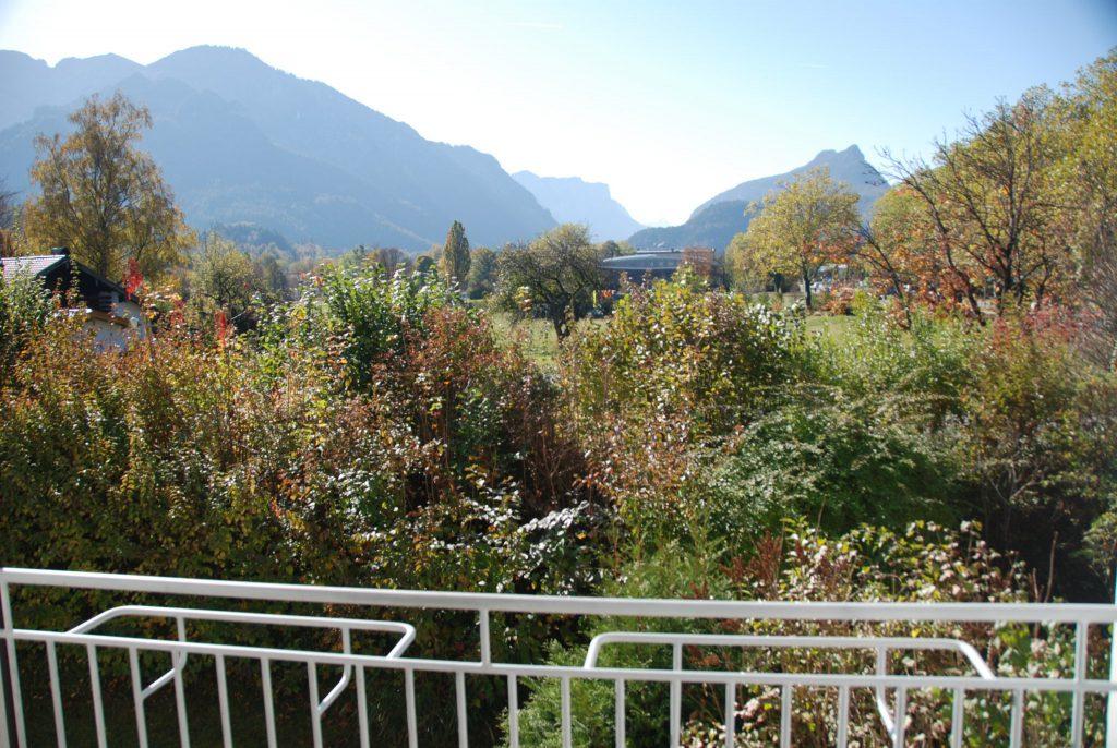 Ausblick vom Balkon - Werkmeisterweg